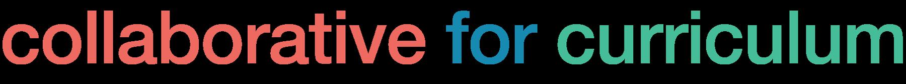 Collaborative For Curriculum Logo